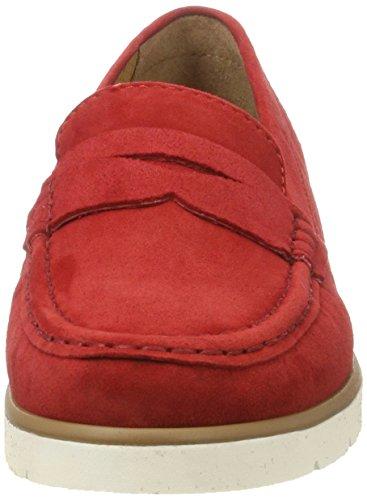 Women's Beige Gabor Red Mocassins Fashion vqgw8gxRC