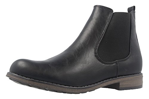 Fitters chelsea katty bootie bottines noir