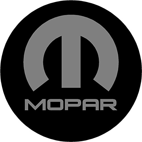 Chrysler Mopar Black and Gray Replacement Decal Sticker 6 Piece Set (2
