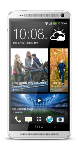 HTC One Max 32GB 4G LTE Unlocked GSM Android Smartphone - Silver (Phone Htc One Max Unlocked)
