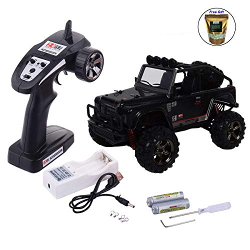 - Eight24hours 1:22 2.4G 4WD High Speed RC Desert Buggy Truck Radio Remote Control Off Road - Black Only Organic Natural Silk Cocoons
