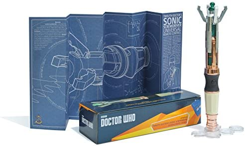 The Wand Company - Destornillador sónico del Duodécimo Doctor ...
