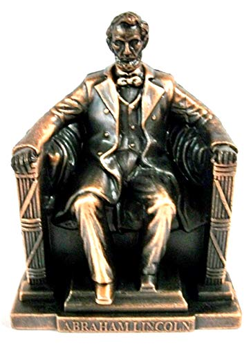 Abraham Lincoln Memorial Die Cast Metal Collectible Pencil Sharpener