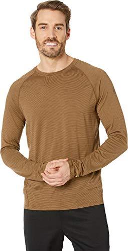 SmartWool Men's Merino 150 Baselayer Pattern Long Sleeve Dark Desert Sand Large