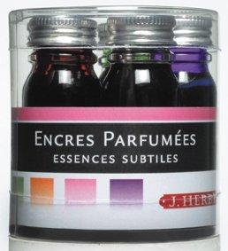 Herbin 10 ml Scented Writing Inks, Assorted Colours, Pack of 5