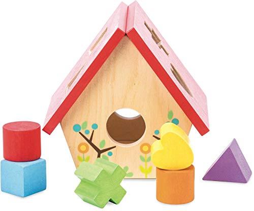 Le Toy Van Petilou My Little Bird House Shape Sorter by Le Toy Van