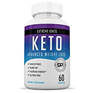 Keto Diet Pills from Shark Tank - Best Weight Loss Supplement - Induce Ketosis Quicker - Ketogenic Fat Burner - Burn Fat Instead of Carbs - 60 Capsules