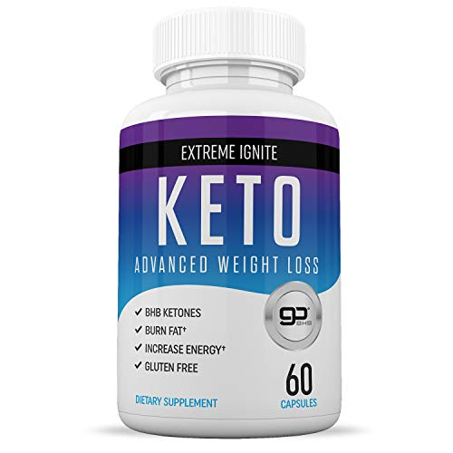 Keto Diet Pills for Weight Loss - Best Weight Loss Supplement - Induce Ketosis Quicker - Ketogenic Fat Burner - Burn Fat Instead of Carbs - 60 Capsules