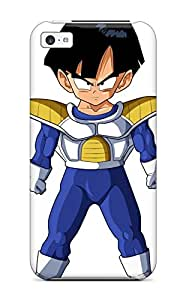 Best 9859325K58266149 Awesome Design Kid Gohan Hard Case Cover For Iphone 5c