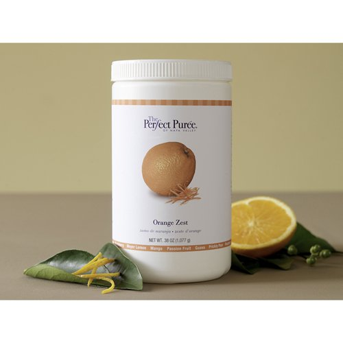 Orange Zest Puree Sweetened With 50% Sugar Frozen - 6 x38 Oz Case