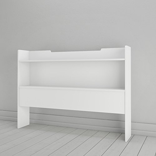 Nexera 346303 Full Size Bookcase Headboard White