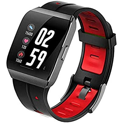 BUFOPER Fitness Tracker Activity Tracker Smart Watch with Heart Rate Monitor Step Counter Pedometer Wristband for Women Men Estimated Price -