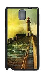 Samsung Note 3 Case 3D Fantasy Road PC Custom Samsung Note 3 Case Cover Black