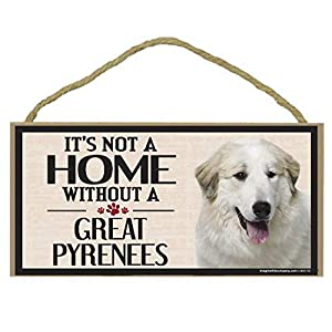 Imagine This Wood Sign for Great Pyrenees Dog Breeds 10