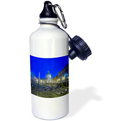 3dRose Danita Delimont - Cities - Italy, Rome, The Forum at dawn - 21 oz Sports Water Bottle (wb_277653_1) by 3dRose