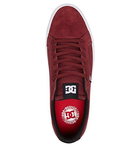 DC Herren Sneaker LYNNFIELD S M Shoe, Größe:10.5, Farben:Burgundy