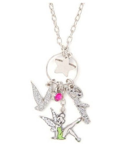 Pendant Necklace - Tinker Bell Charms