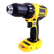 "DeWalt DC720 18V Cordless 1/2"" Dual Speed Range Compact Drill Driver (Bare Tool Only)"