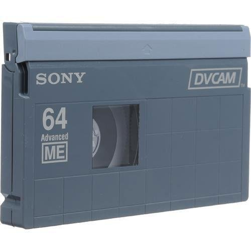 10PCS SONY DVCAM ADVANCE METAL EVAPORATED TAPE PDV-64N by LDB MART (Image #1)