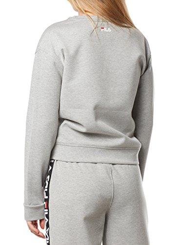 greym Fila B13l Sweater Crew W Amber wngqYX6