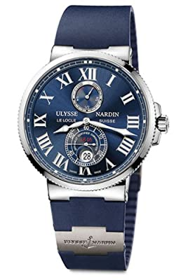Ulysse Nardin Marine Chronometer 43mm Men's Automatic COSC Watch - 263-67-3/43