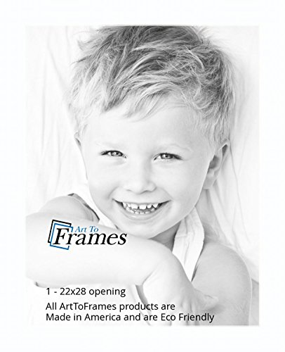 22x28 Smooth White Super White Custom Mat For Picture