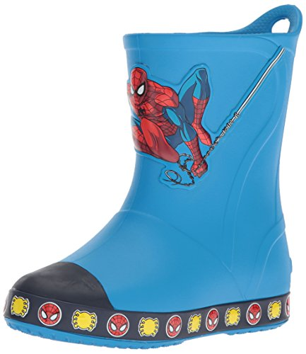 piderman Boot Slip-On, Ocean, 7 M US Toddler ()