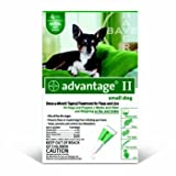 Advantage II for Dogs 4 Month Supply 1-10lb, My Pet Supplies