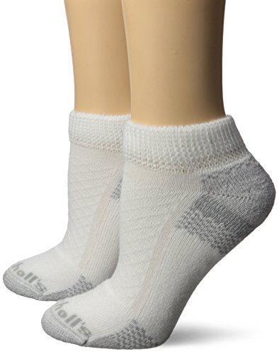 Dr. Scholl\'s Women\'s 4 Pack Diabetic and Circulatory Low Cut Socks