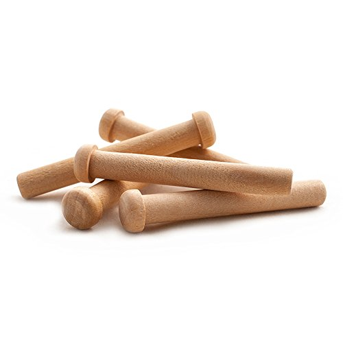Wooden Axle Pegs for 3/8