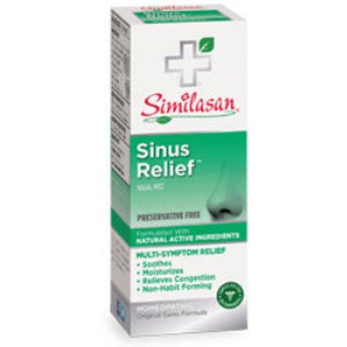 Similasan Sinus Relief Nasal Mist 0.68 oz (Pack of 3)