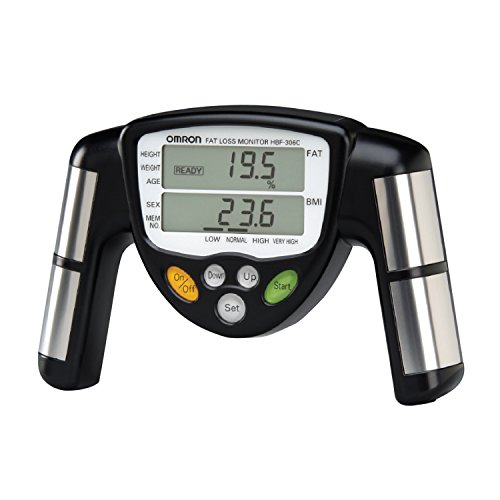 Omron HBF-306C Handheld Body Fat Loss (Omron Heart Rate Monitor)