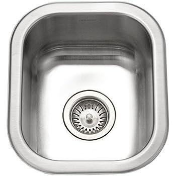 Houzer CS 1307 1 Club Series Undermount Small Bar/ Prep Sink