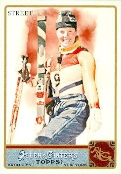 Picabo Street trading card (Womans Skiing X Games Champion) 2011 Topps Allen Ginters #232 by Autograph Warehouse