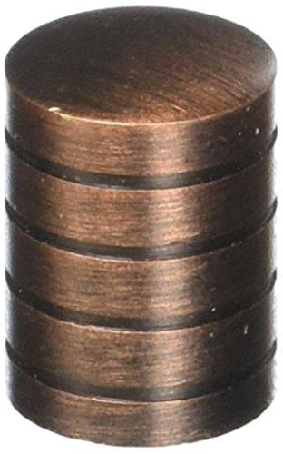 Laurey 26277 Cabinet Hardware 5/8-Inch Cylinder Knob, Venetian ()