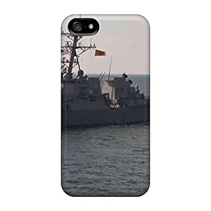 CharlesPoirier Apple Iphone 5/5s Great Hard Phone Case Unique Design Trendy The Guided Missile Destroyer Uss Jason Dunham And A Turkish Navy Patrol Ship Oper Series [PIT3452isNQ]
