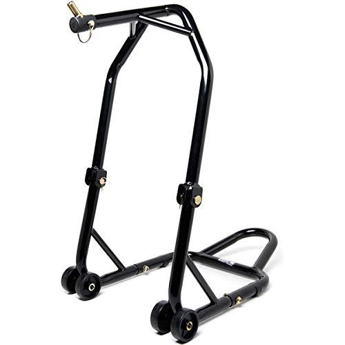 (Venom Motorcycle Triple Tree Headlift Front Wheel Lift Stand Combo (Pin Kit #2) For Yamaha, Honda, Kawasaki, Suzuki, Ducati, BMW - Sport Street Bike Motorcycle)