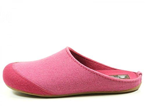 Haflinger Unisex-Erwachsene Everest Lasse Pantoffeln Pink