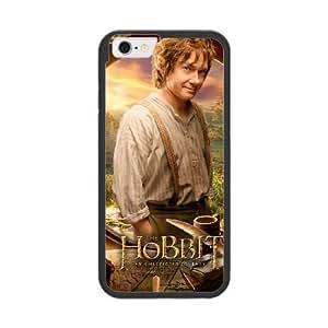 Bilbo Baggins T1H1YR7D Caso funda iPhone 6 del teléfono celular de 4.7 pulgadas Caso funda Negro