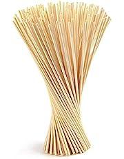 Coriver 150 stuks reed diffuser sticks, kamer etherische olie geur diffuser sticks vervanging voor aroma geur -24 cm x 3 mm