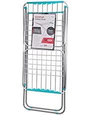 Delcasa Large Folding Clothes Dryer Drying Space Laundry Washing Durable Metal Drying Rack Multifunctional Air Dryer Ideal for Indoor and Outdoor DC1652, multicolor