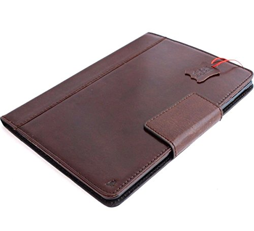 Genuine Vintage Leather Handmade Case for Apple Ipad Pro 9.7 DavisCase Cover Handbag Stand Luxury Credit Cards Slots IL