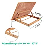 Falling in Art Large 5-Position Wood Drafting Table