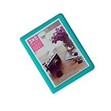 Hurricanes 32 Pockets Colorful Fuji Wide Instant Mini Book Photo Album for Fujifilm Instax WIDE 210 200 300, Fujifilm FP100C 3000B Instant Films - Mint