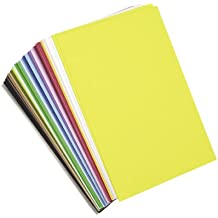 Darice 1040-56  Foamies Sticky Brick 40- Sheets, 6 by 9-Inch, Assorted Color