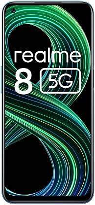 (Renewed) Realme 8 5G (Supersonic Blue, 4GB RAM, 128GB Storage)