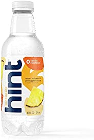 Hint Water Pineapple (Pack of 12) 16 Ounce Bottles, Pure Water Infused with Pineapple, Zero Sugar, Zero Calori