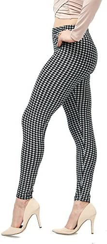 LMB Lush Moda Extra Soft Leggings with Designs- Variety of Prints