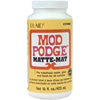 Mod Podge Waterbase Sealer, Glue and Finish (16-Ounce),...