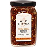 THAI CHILI ROASTED GARLIC DIPPING SAUCE by Wild Thymes Farm, 13oz